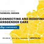 Η αφίσα του συνεδρίου της EPATH με λευκό φόντο και στο μισό δεξί τμήμα της εικόνας με κίτρινο χρώμα η χαρτογράφηση του Γκέντεμποργκ και τμήματος της Σουηδίας. Αναγράφονται με μαύρα γράμματα ο τίτλος και οι ημερομηνίες του συνεδρίου.